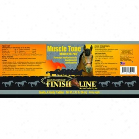 Finish Line 75212 Muscle Temper With Myo-p5o