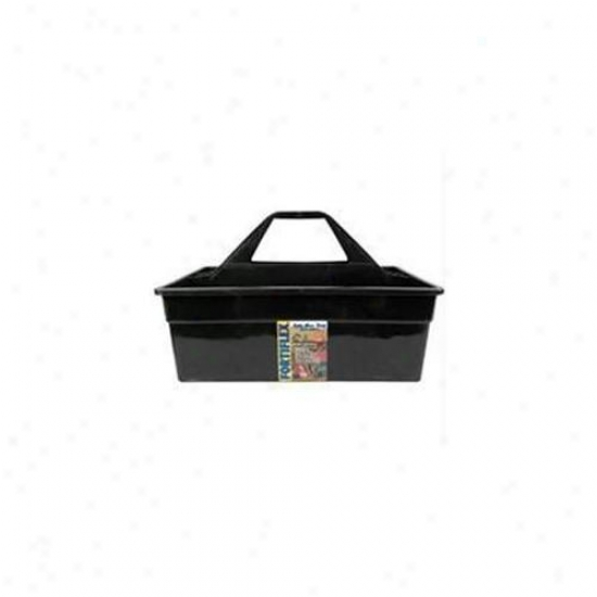 Fortex Industries Inc Tote Max- Blafk 17x11x11 Inch - 1300701