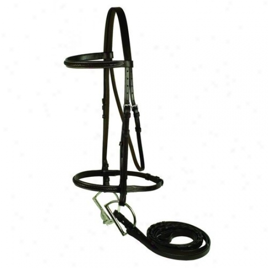 Gatsby Leather 108-h Horse Braided Bridle