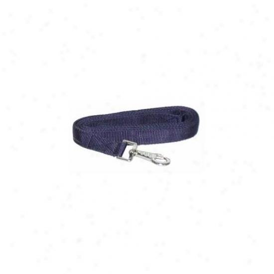 Gatsby Leatjer Company - Nylon Lead With Snap- Navy - 401350-2600-2295