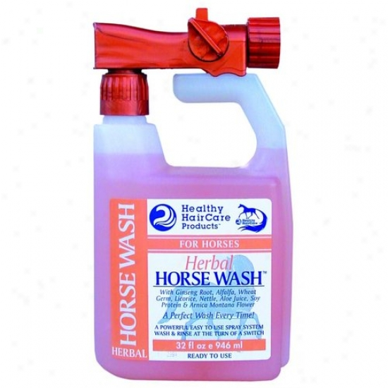Healthy Haircare Hhhw32 Herbal Horse Wash Rtu