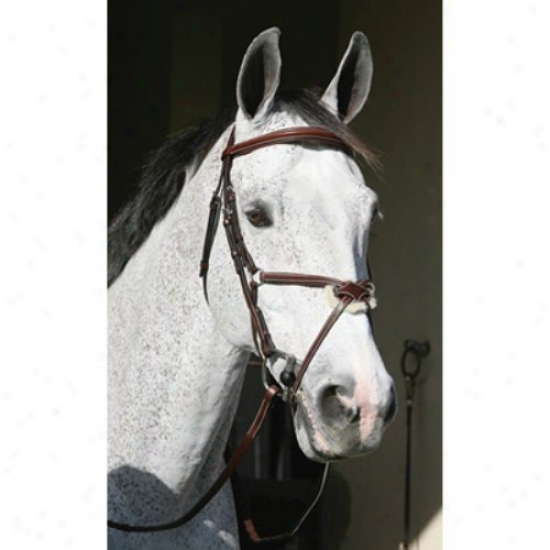 Hnri De Rivel Pro Mono Crown Raised Figure 8 Bridle With Matching Reins