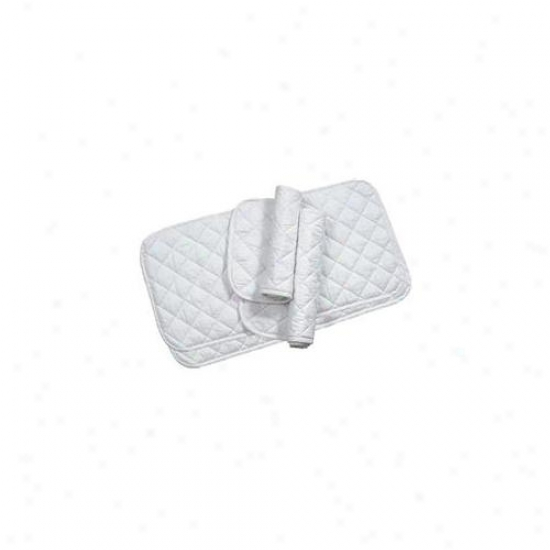 Imported Horse &supply - Quilted Leg Wrap- White 16 Inch - 174698
