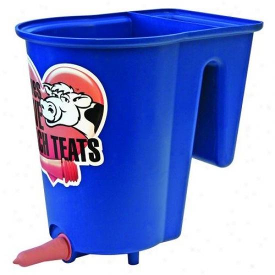 Jdj Soputions Peach Teat Single Calf Bucket Feeder
