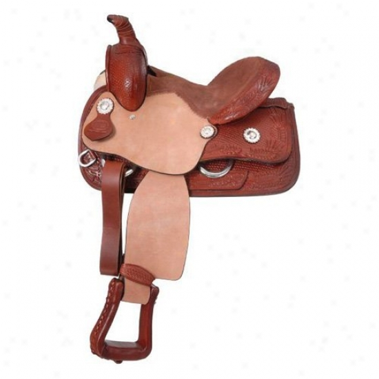 King Seriess Allen Pony Roper Saddle