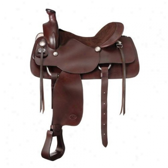 King Series Crossfire Ranchrr Saddle