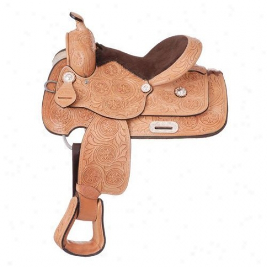 King Series Hawkins Youth Exhibit Saddle