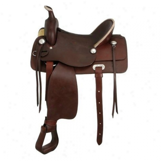 King Series Hereford Hardseat Saddle