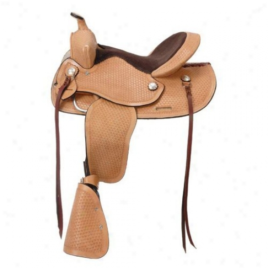 King Series Jr. Showman Boy Saddle
