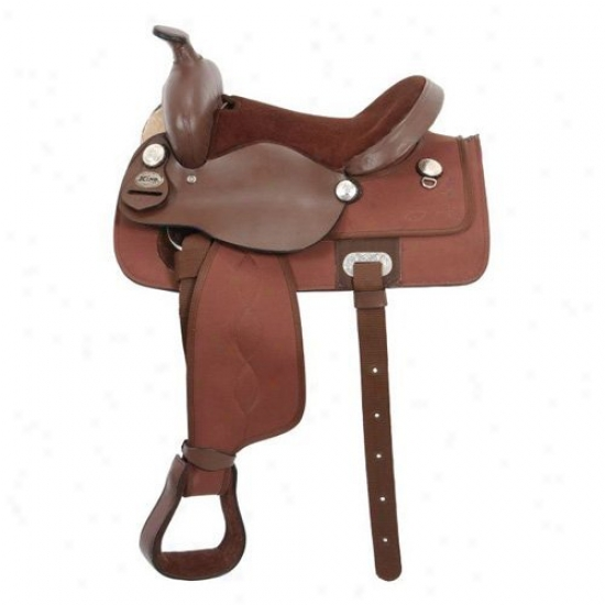 King Series Krypton Western Youth Saddle