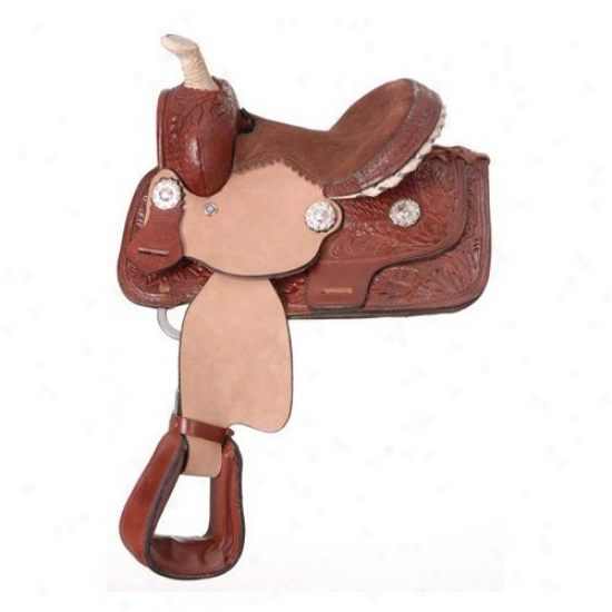 King Series Miniature Westerly Barrel Saddle