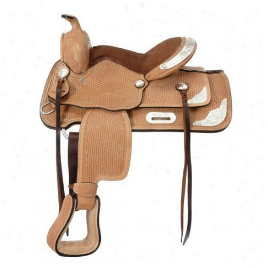 King Series Show Star Youth Saddle