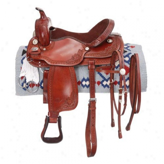 King Series Three Rivers Trail Saddle Set
