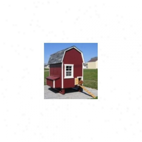 Little Cottwge Company 4 X 6 Gambrel Barn Chicken Coop