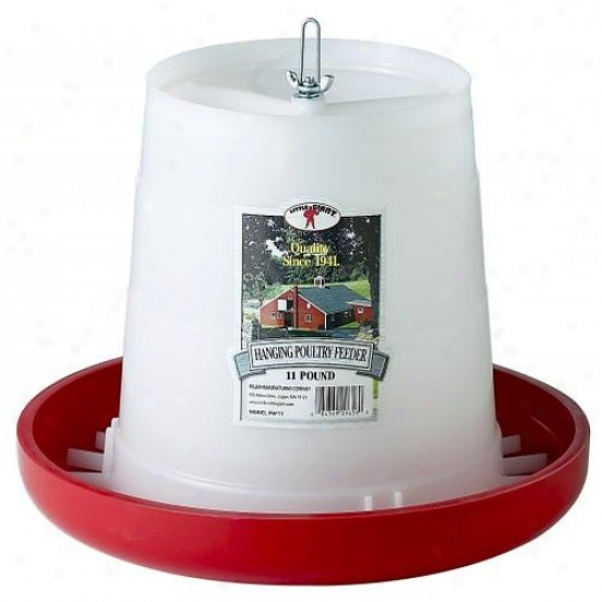 Little Giant Phf11 11 Lbs Plastic Hanging Poultry Feeder