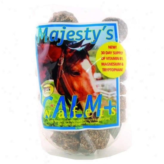 Majestys Animal Mcw30 Majesty S Calm Wafers