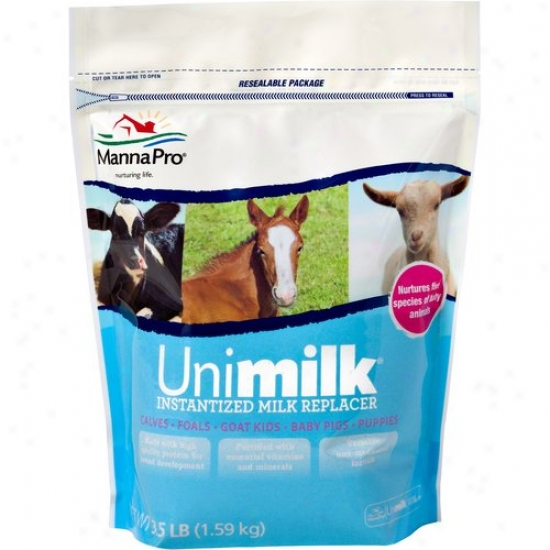 Manna Pro 00-9454-0206 Uni-mik Instantized Milk Replacer
