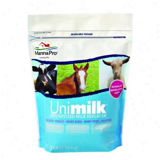 Manma Pro 00-9454-0218 Unimilk Instantized Milk Replacer