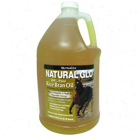 Manna Pro 03-8076-5861 Natural Glo Rice Bran Oil