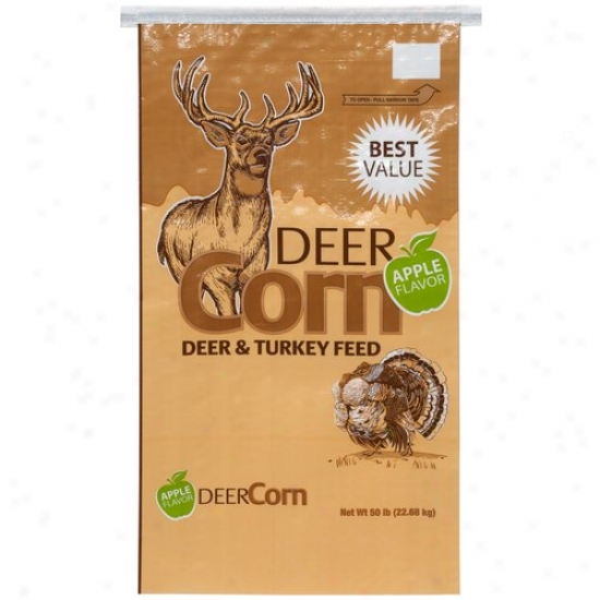 Manna Pro Apple Flavored Deer Corn, 50 Lbs