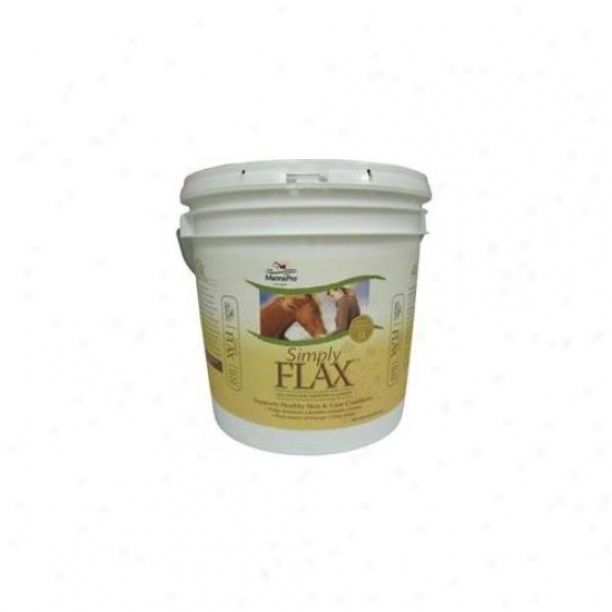 Manna Pro-equine - Simply Flax 8 Pound - 00-9215-1592