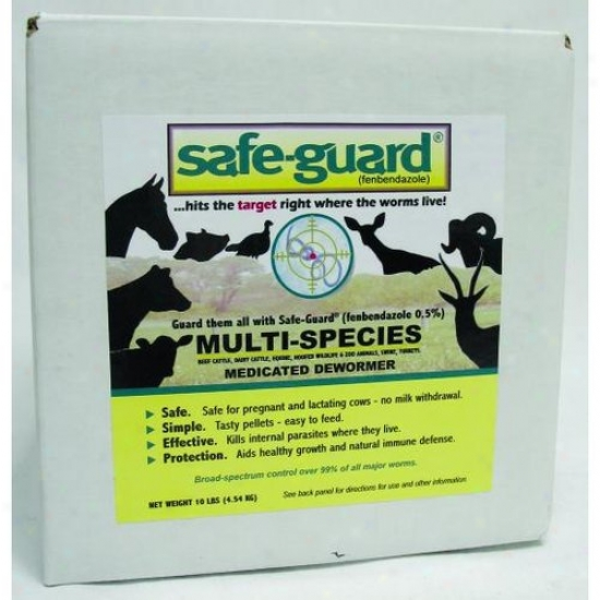 Merck Animal Health 056698 Safeguard 0.50% Dewormer