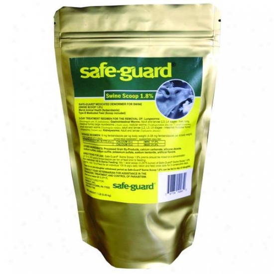 Merck Animal Health Swine Safeguard Swine Dewormer 1.8% - 1 Lb.