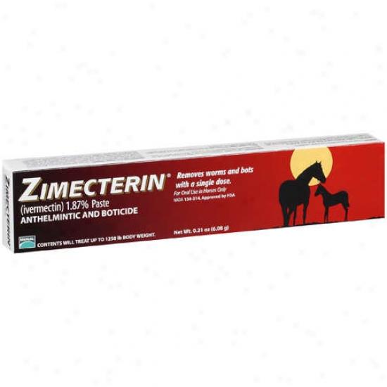 Merial 7096120 Zimecterin Equine Dewormer