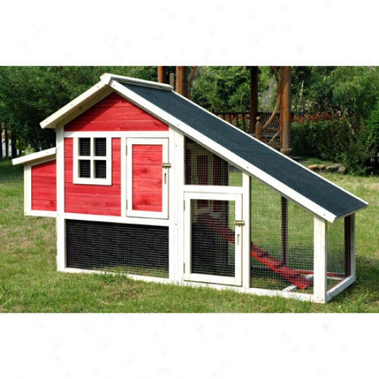 Mirthful Products Pet Proposal Habitat Chicken Coop