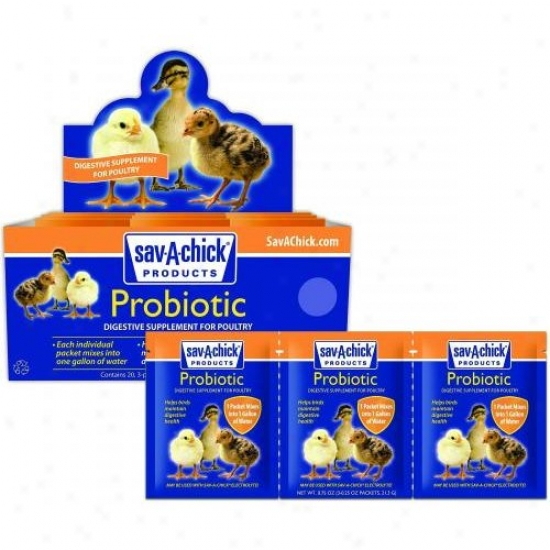 Milk Products 01-7403-0203 Sav-a-chick Probiotic Supplement