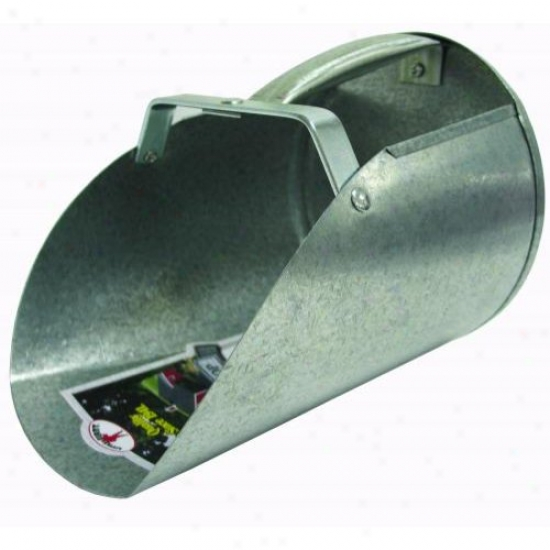 Miller 9203 Galvanized Feed Scoop