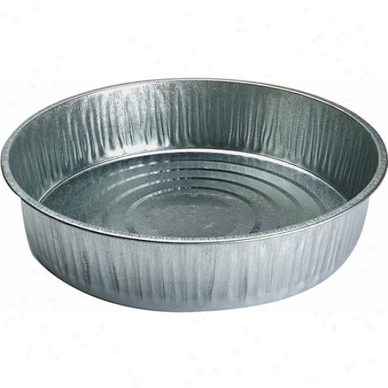 Miller Manufacturing 13qt Galvanised Feed Pan