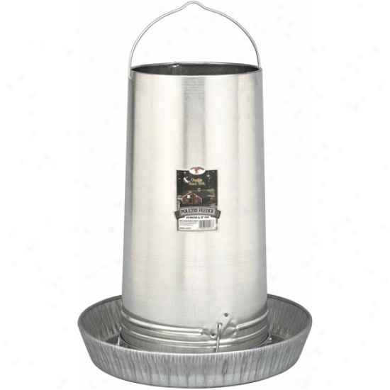 """Miller Manufacturing 17"""" Galvanized Hanging Poultry Feeder Tubes"""