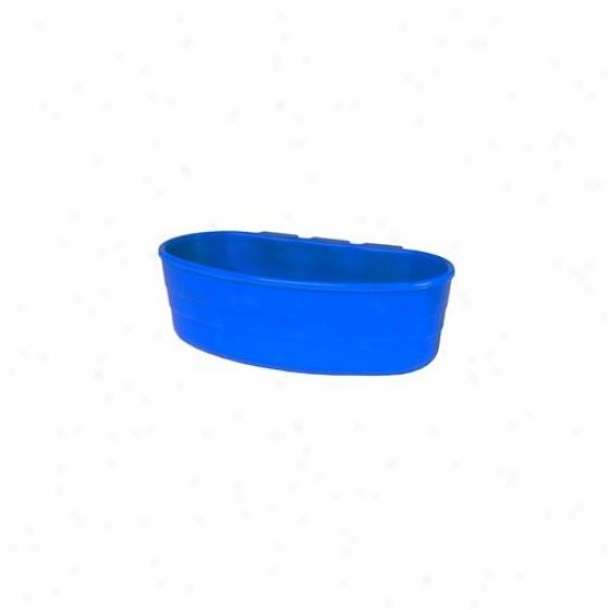 Miller Manufacturing . 50 Pint Blue Cage Cups  Acu1blue