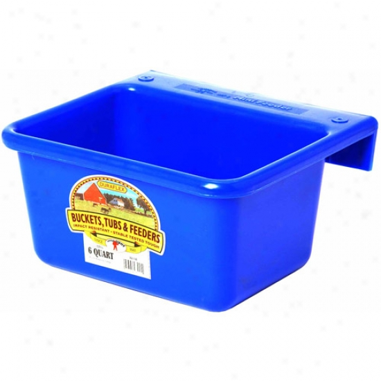 Miller Manufacturing Mf6-blue 6 Two pints Blue Mini Feeder