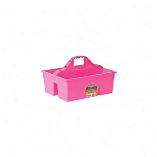 Miller Mfg Co Inc Plastic Dura Tote- Hot Pink - Dt6hotpink