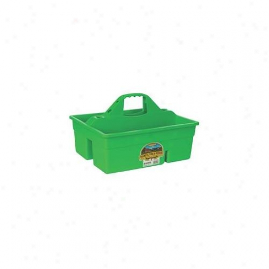 Miller Mfg Co Inc Plastic Dura Tote- Lime Green - Dt6limegreen