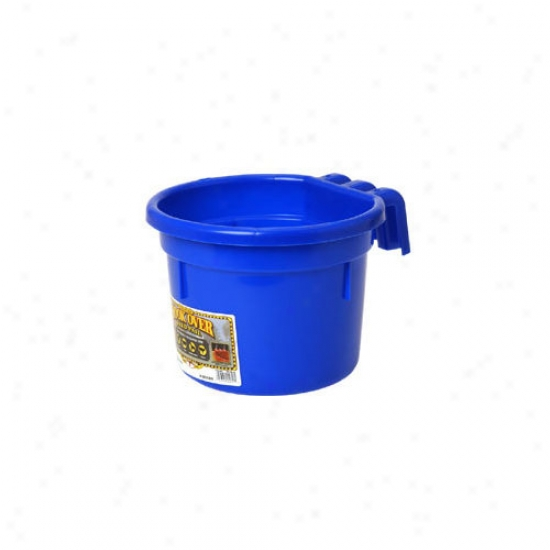 Miller Mfg Hook Over Feed Pail - 8 Quart