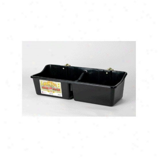 Miller Mfg Horse Feeder With Divider - 16 Quart