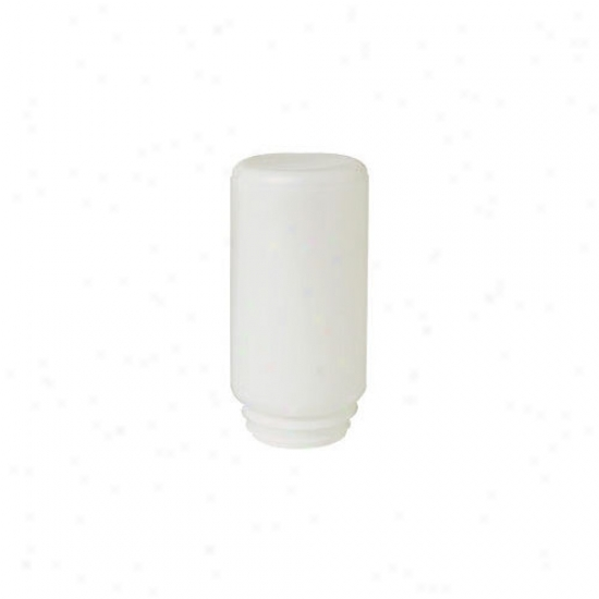 Miller Mfg Screw On Plastic Shake Poultry Feeder In White - 1 Quart
