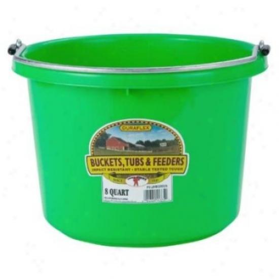 Miller P8limegreen Plastic Bucket