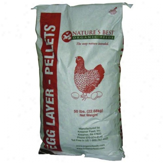 Natures Best M0650 Organic Layer Pellets