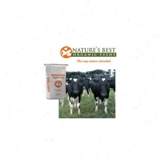 Natures Best Organic Feed 063345 Organic Dairy 16 Pellets