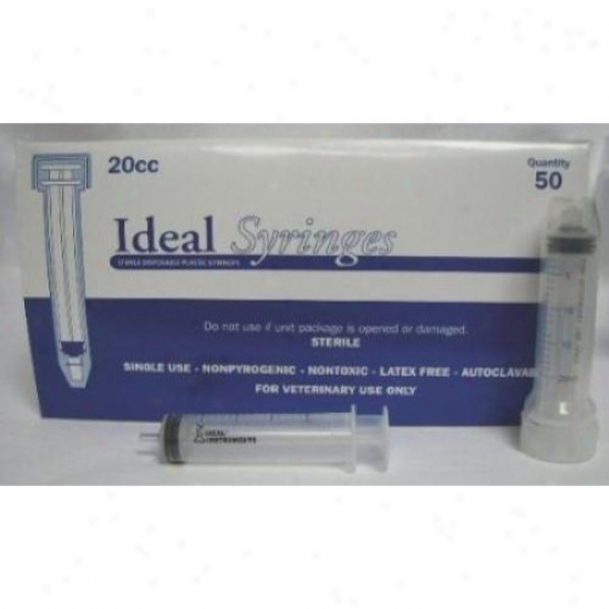 Neogen Ideal 8889 Syringe 20cc Ls