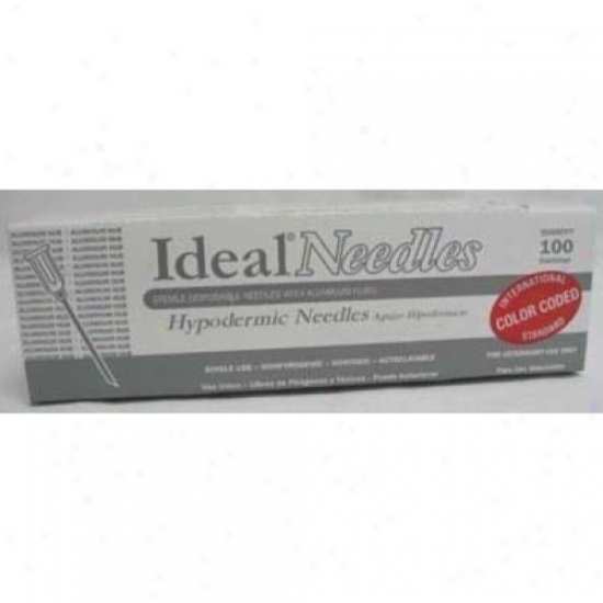 Neogen Ideal 9404al Aluminum Hub Disposable Needle