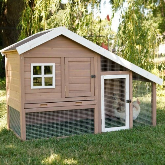 Precision Cape Cod Chicken Coop