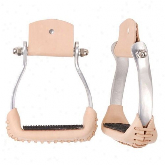 Royal King Aluminum Barrel Racer Stirrups