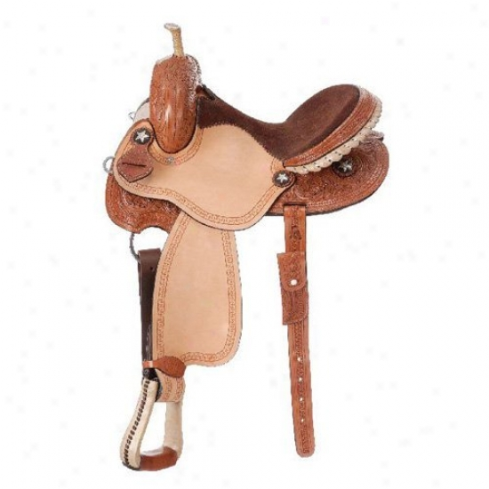 Royal King Bay City Barrel Saddle