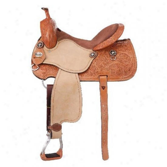 Royal King Bridge City Barrel Saddle