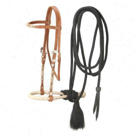 Royal King Browband Headstall Bosal/mecate Set
